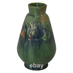 Roseville Pottery Baneda Green Arts And Crafts Vase 602-6
