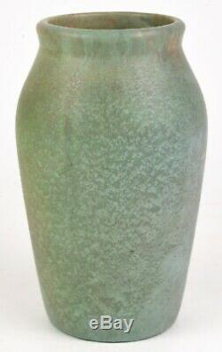 Roseville Pottery Early Carnelian 8 Vase Arts And Crafts