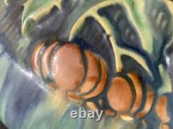 Roseville Pottery Green Baneda Vase AMERICAN ART 605-6 Art & Crafts DRIP GLAZE
