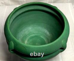 Roseville Pottery, Large Matt Green Jardiniere For Floor Vase, Arts & Crafts