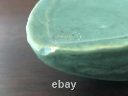 Roseville Pottery Matte Green Wall Pocket Shape 1204-10 Arts & Crafts
