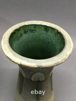Roseville Pottery Mostique Jardinere Planter And Vase 1920s Mission Arts Crafts