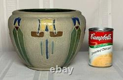 Roseville Pottery, Mostique Jardiniere, Arts & Crafts, Indian Influenced, Nice