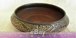 Roseville Pottery Rosecraft Vintage Bowl Art Nouveau Arts & Crafts ca 1925+