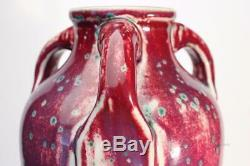 Ruskin Pottery Arts and Crafts High Fired Vase William Howson Taylor 1933 40.5cm