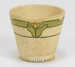 SEG Saturday Evening Girl's Paul Revere Pottery tulip band egg cup arts & crafts