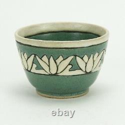 SEG Saturday Evening Girls Paul Revere Pottery'09 lotus band bowl arts & crafts
