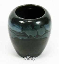 SEG Saturday Evening Girls Paul Revere Pottery black landscape vase arts & craft