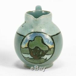 SEG Saturday Evening Girls Paul Revere Pottery landscape pitcher arts & crafts
