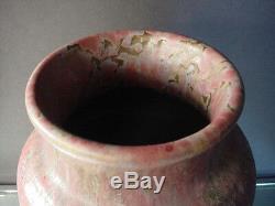 Scarce Roseville Art Pottery Carnelian II Rose Vase Shape 314 Arts & Crafts 1915