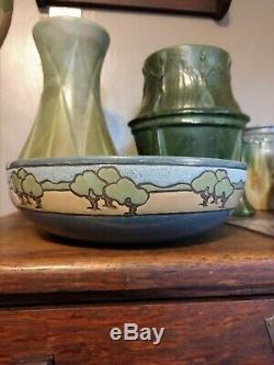 Seg Saturday Evening Girls Arts And Crafts Bowl Mint