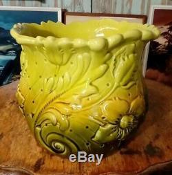 Superb Christopher Dresser Design Ault Pottery Jardinierre. Art And Crafts