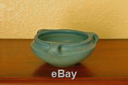Sweet Antique Rookwood Arts & Crafts Cabinet Bowl XVII 1917 #2163E Matte Blue