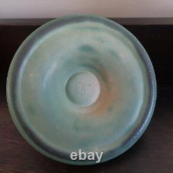 Teco Pottery Arts & Crafts Candle Holder Candlestick With Exceptional Glaze