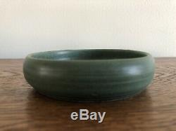 Teco Pottery Arts & Crafts Small Flower Bowl