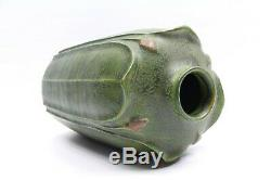 The Arts and Clay Co. Grueby Design Pottery Matte Green Vase Crafts Jeremick