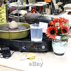 US Art Supply U. S. Art Supply Table Top Pottery Wheel with LCD Wheel Speed Display