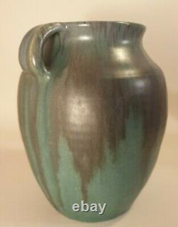 Upchurch Pottery 2 Handled Vase British Arts &Crafts Studio Pottery