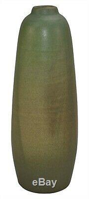 Van Briggle Pottery 1905 Olive Green Arts and Crafts Vase
