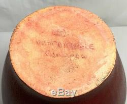 Van Briggle Pottery, Arts & Crafts Design, Monumental Floor Vase, Mulberry, Nice