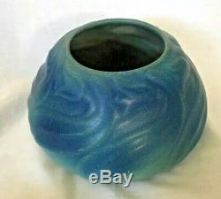 Van Briggle Pottery Arts and Crafts Bowl / Centerpiece / Vase / Planter Blue