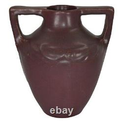 Van Briggle Pottery Late Teens Arts And Crafts Handled Vase 780