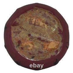 Van Briggle Pottery Late Teens Mulberry Leaves Arts and Crafts Bowl Planter 858