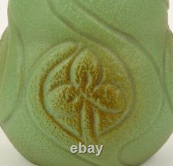 Van Briggle Vase 1904 With Spiderworts Shape Number 159 Arts And Crafts
