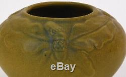 Van Briggle Vase Arts And Crafts Design With Acorns Dated 1916