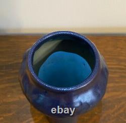 VanBriggle Arts and Crafts Pottery Vase Dated 1916 MINT