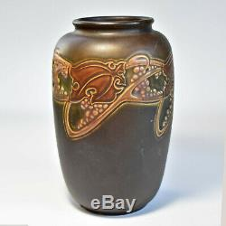 Vintage 1925 Roseville Rosecraft 8.25 in. Art Nouveau Arts & Crafts Vase