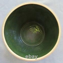 Vintage LG Roseville Pottery Arts & Crafts Mostique Arrow 10 Inch Jardiniere
