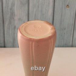 Vintage Rookwood Dusty Rose Pink Arts Crafts Vase XXV 1824 1920s