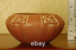 Vintage Rookwood Pottery Arts & Crafts Cabinet Bowl XXI 1921 #2131 Matte Mauve