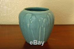 Vintage Rookwood Pottery Arts & Crafts Cabinet Vase XLVI 1946 #6432 Dusty Blue