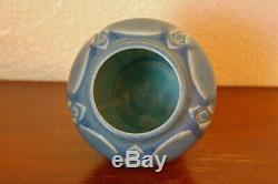 Vintage Rookwood Pottery Arts & Crafts Cabinet Vase XXIV 1924 #2089 Matte Blue
