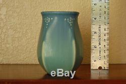 Vintage Rookwood Pottery Arts & Crafts Cabinet Vase XXV 1925 #2811 Matte Blue