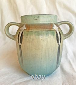 Vintage Roseville Pottery Monticello Vase Arts & Crafts 1931 Montacello Art 560