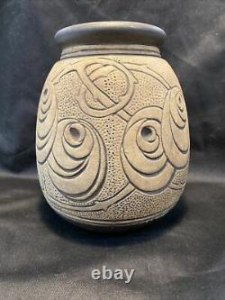 Weller Art Pottery Burntwood Arts & Crafts Vase
