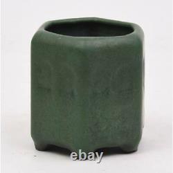 Weller Bedford Vase 3.75 Tall Matt Green Arts & Crafts