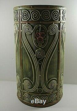 Weller Pottery Arts And Crafts Flemish Umbrella Stand Art Pottery