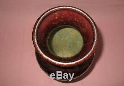 Weller Pottery Large Bronze Ware Iridescent Vase American Arts & Crafts 15 3/4